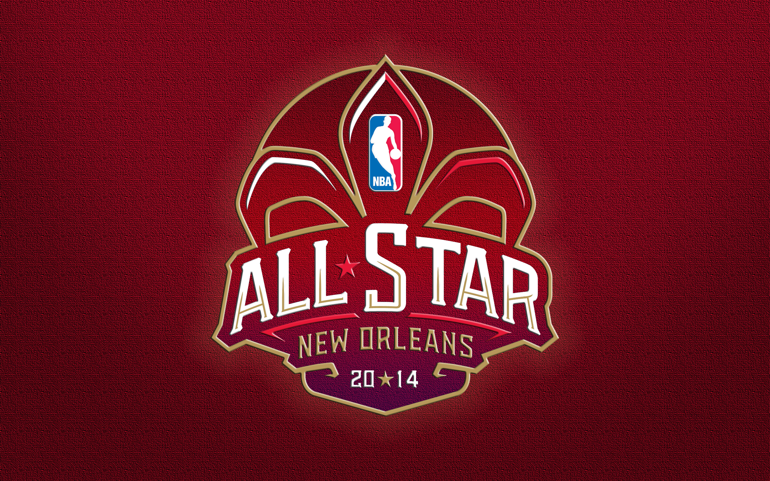New Orleans Nba All Star Game 2014 Logo Wallpaper1 The